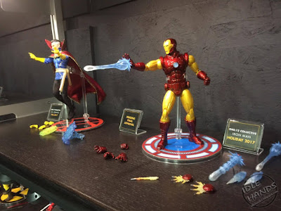 Toy Fair 2017 Mezco One:12 Collective Marvel Comics Doctor Strange and Iron Man