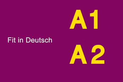 ملف امثلة امتحان A1 و A2 من مؤسسة جوته مرفوقة مع الحلول Fit in Deutsch A1 und A2