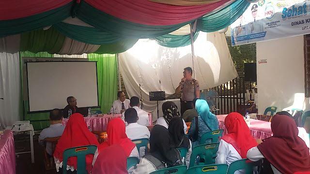 Kapolsek Medan Area Hadiri Acara Mini Lokakarya Lintas Sektoral