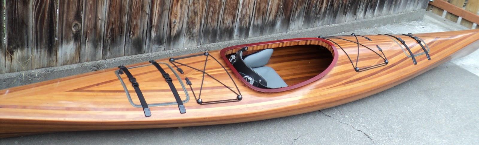 Cedar strip kayaks for sale