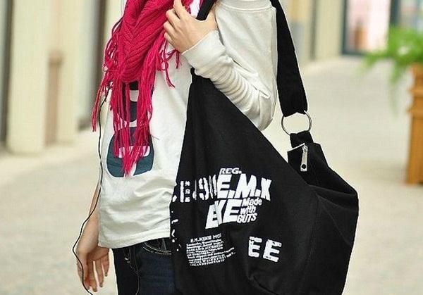 Contoh Model Hobo Bags Simple Untuk Wanita