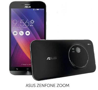 Asus ZenFone Zoom dengan zoom Optik