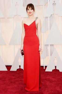 Dakota Johnson Oscars 2015