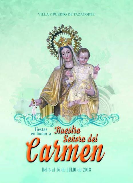 Programa de las Fiestas del Carmen 2018 - Tazacorte 2018
