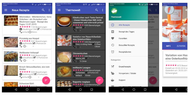Download Thermowelt (Android-App Thermomix ® Rezeptwelt) Mobile App
