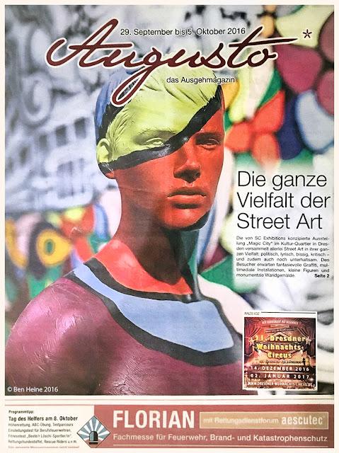 Ben Heine Art in Augusto Magazine - Germany 2016