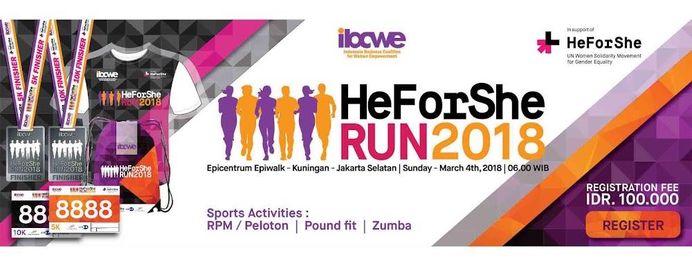 IBCWE HeForShe Run • 2018