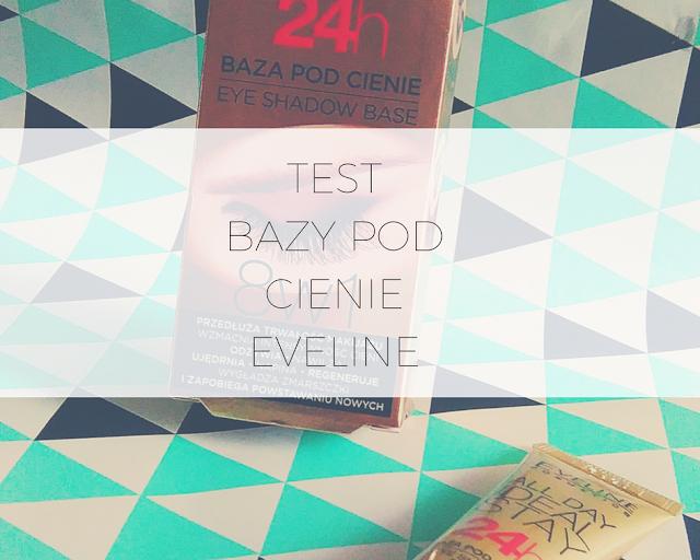 Eveline Cosmetics/Recenzja bazy pod cienie All Day Ideal Stay 24h