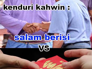 Kenduri kahwin | salam berisi vs ang pow