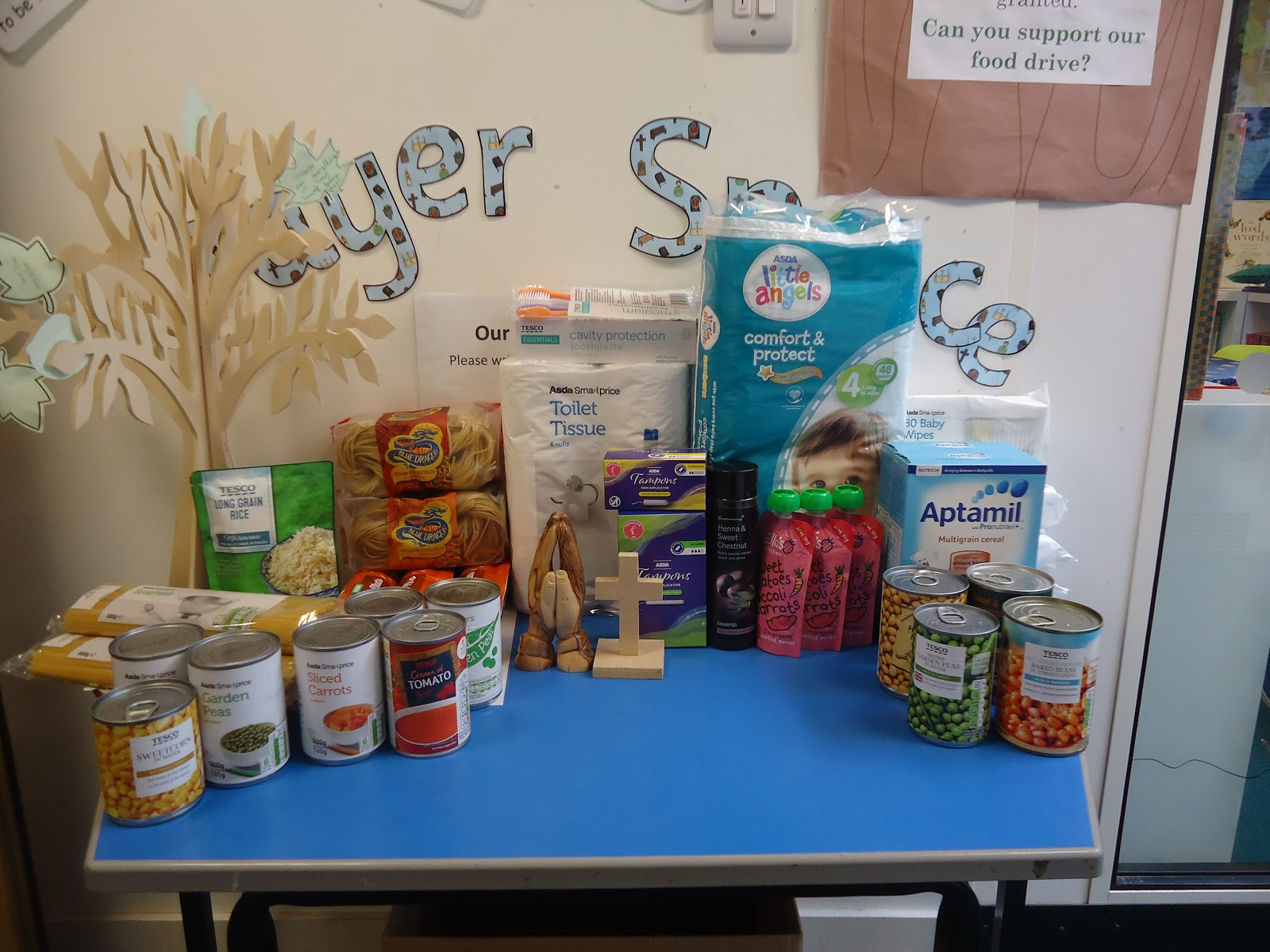 Cheetahs Class Lent Food Drive For The Norwich Food Bank