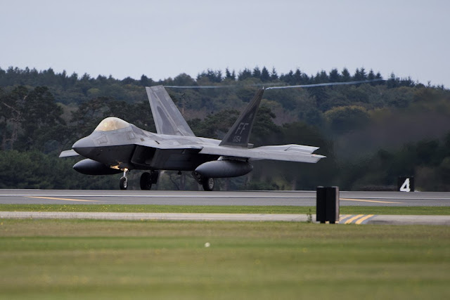 F-22 Raptor back UK Europe