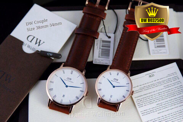 Đồng hồ dây da DW D032500