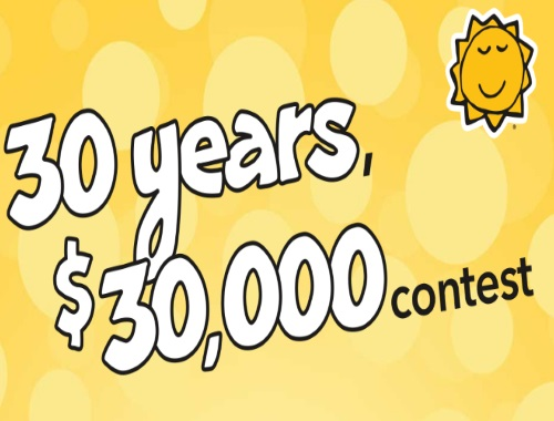 Coras 30 Years, $30,000 to be Won Contest