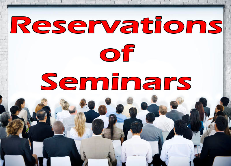 Reservations of Seminars