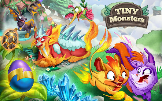 Tiny Monsters Game Apps For Laptop, Pc, Desktop Windows 7, 8, 10, Mac Os X