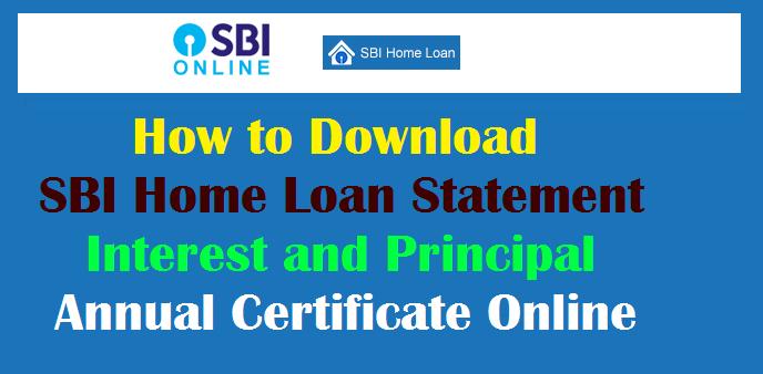 download bank statement sbi