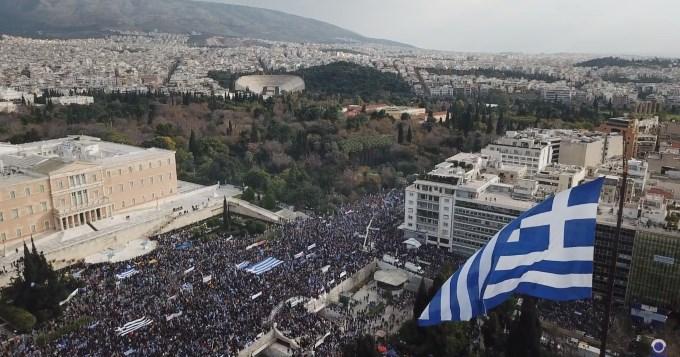 #Μίκης #Θεοδωράκης - ιστορική ομιλία στο #συλλαλητήριο για την #Μακεδονία