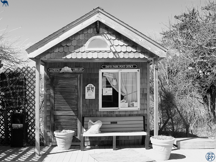 Le Chameau Bleu - Séjour à Fire Island - Post Office de Davis Park