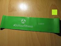 vorne: 4er Set Fitnessband »Achilles«, Latex Loop-Band inklusive Tragetasche für Fitness, Reha und Physiotherapie leicht mittel stark extra-stark