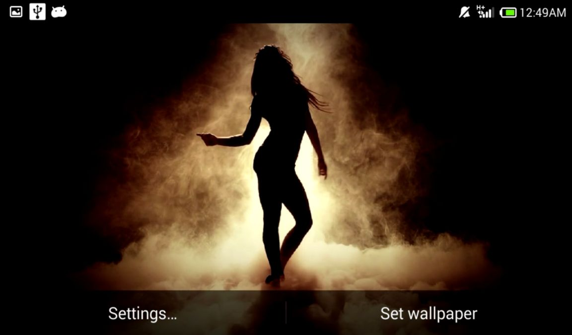 Dancing Girl Live Wallpaper Its Wallpapers