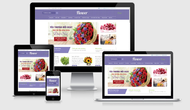 Flower Ecommerce Blogger Store Theme