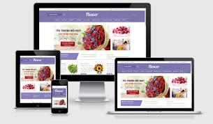 Flower Ecommerce Blogger Store Theme - Responsive Blogger Template