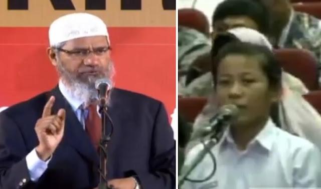 """""""Di Agamaku Ada Jaminan Keselamatan, Di Islam Ada?"""" Jawaban Dr Zakir Naik Membuat Siswi SMA Bersyahadat"""