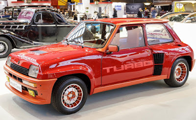 Renault 5 Turbo 1982 at Retromobile 2017