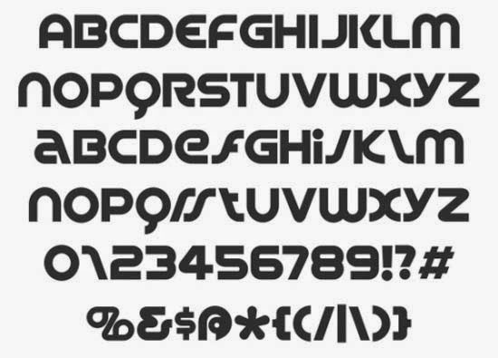 Spin Cycle font