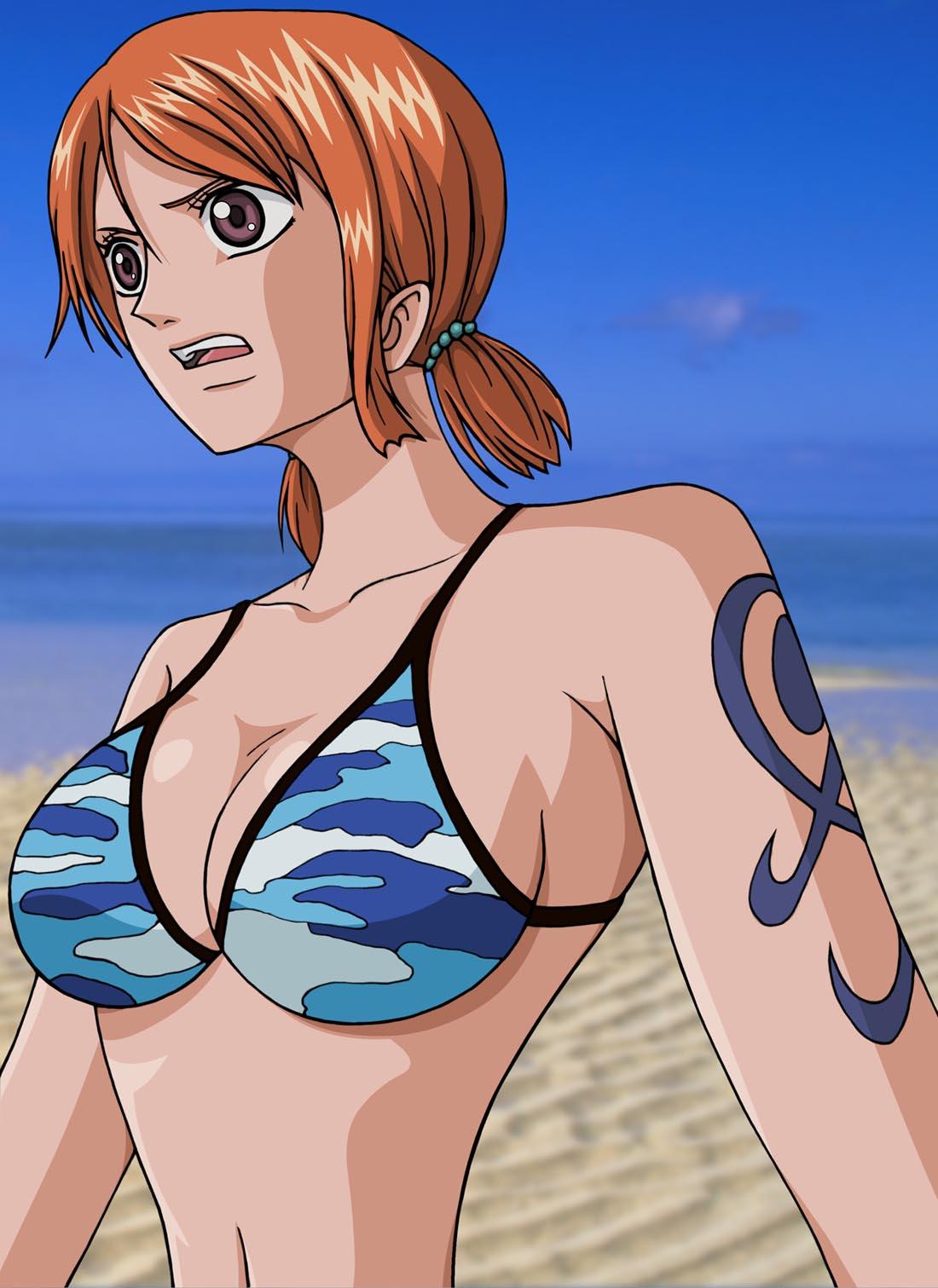 Nami Nackt One Piece