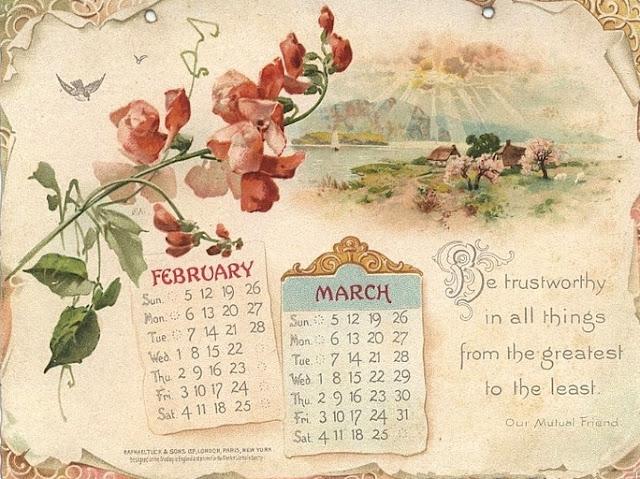 Как сделать красивый календарь