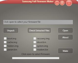 Samsung Firmware (.tar) Extractor