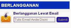 cara membuat form berlangganan lewat email pada blog