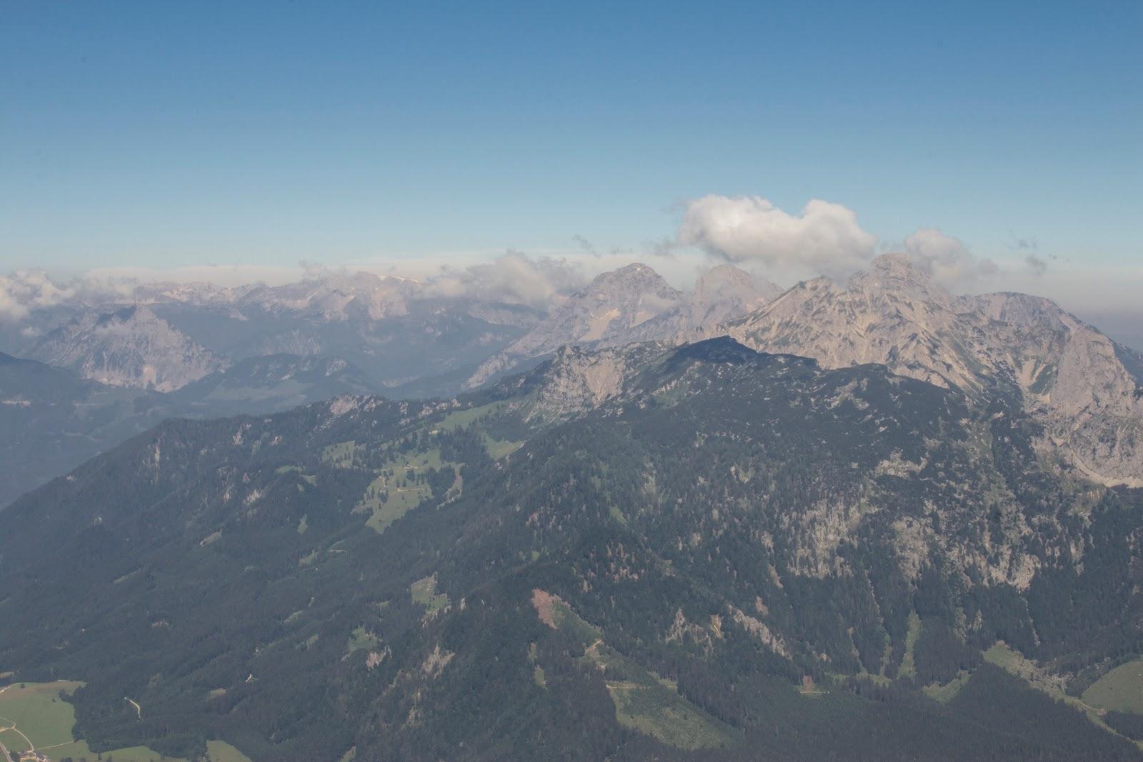Zweitätige Wanderung im Gesäuse von Gsatterboden zum Buchsteinhaus und weiter über den Südwandband Klettersteig auf den Großen Buchstein - Panorama