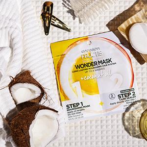 Drugstore Buy Of The Week Garnier Fructis Wonder Mask Coconut Oil