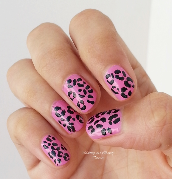 animal print nail art images