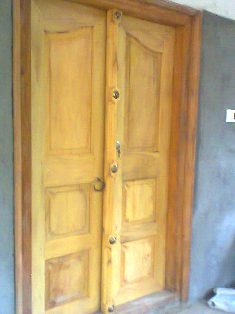 Kerala Front Door Designs Model