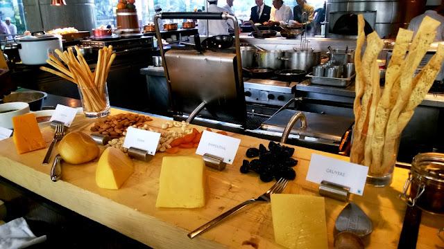 Glasshouse Hyatt Regency Sunday Brunch Cheese