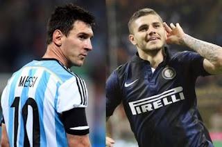 ميسي وراء استبعاد إيكاردي من قائمة الأرجنتين في مونديال روسيا 2018