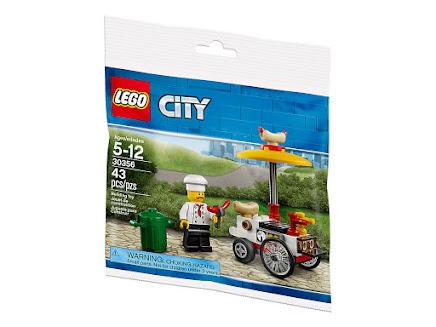 LEGO 30356 - Stoisko z Hot Dogami