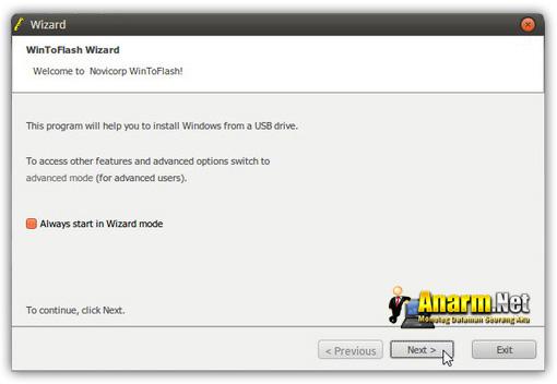 Windows 7 USB tutorial WinToFlash