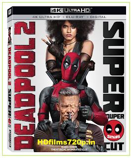 Deadpool 2 2018  BluRay 720p 1.4GB [Hindi  – English ] MKV