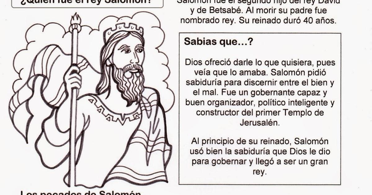 El Rincón De Las Melli: ¿Quién Fue El Rey Salomón?