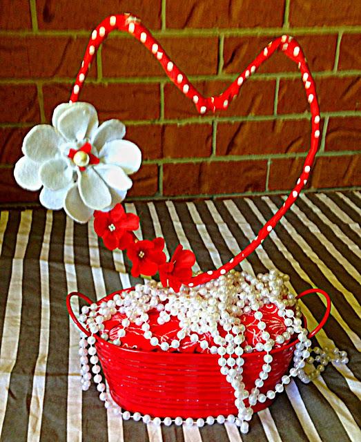 valentines day, centrepiece