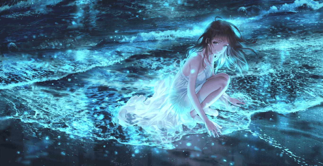 Sea and sa [Wallpaper Engine Anime]