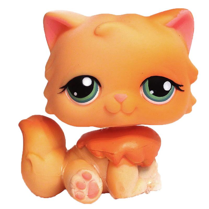 littlest pet shop portable pets persian   217  pet