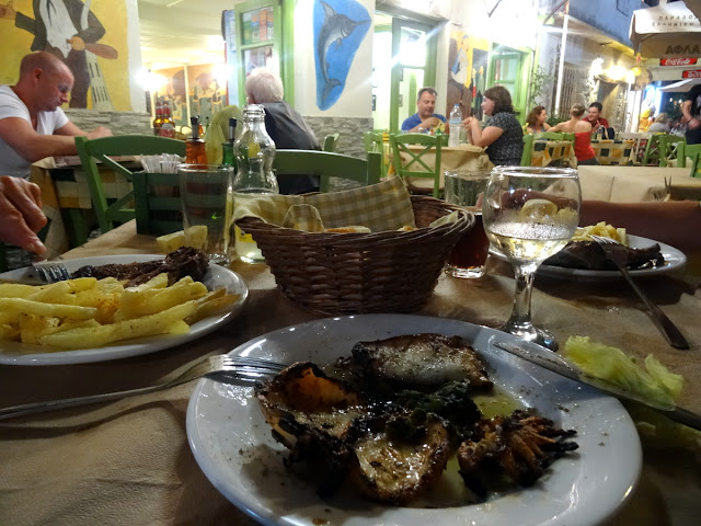 Dinner Amvrosios fish taverna in Preveza
