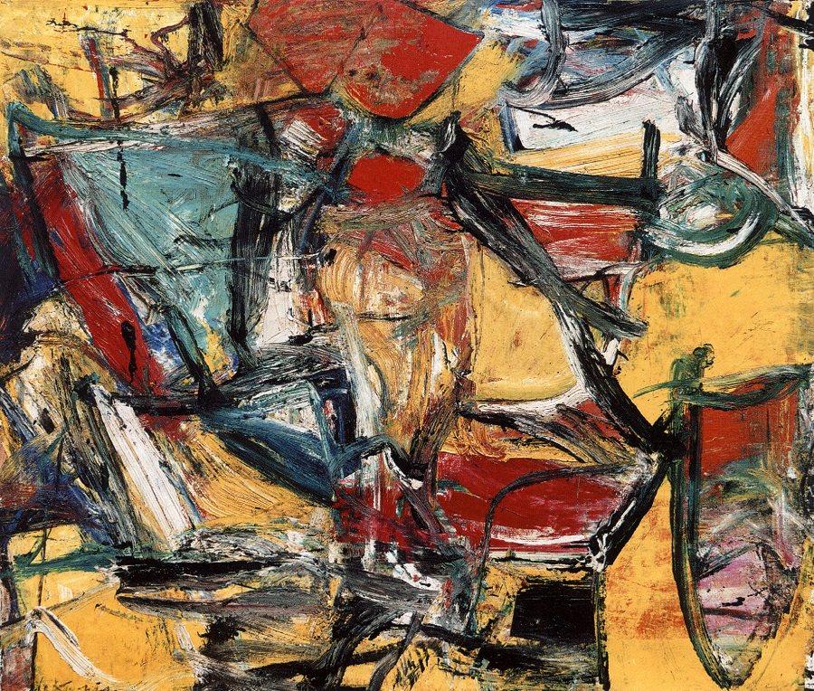 Pintores Modernos Willem de Kooning