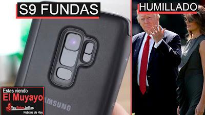 Fundas galaxy s9 filtradas, fundas, galaxy s9, noticias, trump, iphone x, windows 10